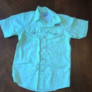 Boys Columbia PFG Button Down Shirt